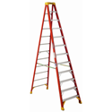 Werner 6212 Step Ladder, 12 ft. - Fiberglass