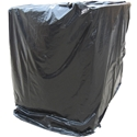 4 ft. x 4 ft. Pallet Covers - 3 mil, Black, 50/ROLL