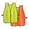 Radwear Non-Rated Safety Vests - 1 in. Striped Mesh