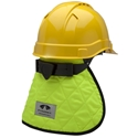 Pyramex CNS130 Cooling Hard Hat Pad & Neck Shade - Lime
