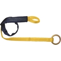 FallTech 7425 Concrete Anchor w/ Loop and D-ring - 2 ft.
