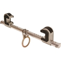 Falltech Steel I-Beam Anchor, Dual Ratcheting, 4in. - 14in.