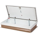 JL Industries RHGD-3WT Galvanized Steel RHG Roof Hatch 96 in. x 30 in.
