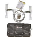 Super Anchor Safety 1324, 20ft HLL Kit w/ Cargo Bag - 30 degree sag angle