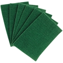 Industrial Scouring Scrub PadS 6x9 Green, 10pk