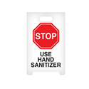 A-Frame Floor Sign- STOP Use Hand Sanitizer