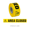 Area Closed Barricade Tape