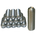 Cup Tipped Set Screws for Standing Seam Roof Anchors, Pack of 12