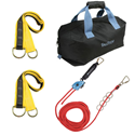 100 ft. 4-Person Temporary Horizontal Lifeline System