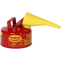 Eagle UI-10-FS Type I Safety Can 1 Gal. Red with F-15 Funnel