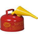 Eagle UI-20-FS Type I Safety Can 2 Gal. Red with F-15 Funnel