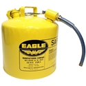 Eagle U2-51-SY 5 Gal. Safety Gas Can (Type II)