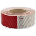 Conspicuity Tape Red/White 2 in. x 150 ft. Roll