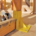Guardian 61141 Stair Mount Guardrail System - For 2x4 Boards