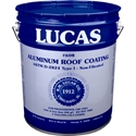 Lucas 608 Aluminum Roof Coating Non-Fibrated 5 GAL