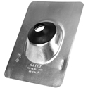 Oatey 12920 Aluminum Base Roof Flashing 1.25-1.5 in.