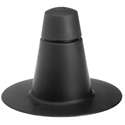 Portals Plus 72018 1-Way Black Plastic Vent