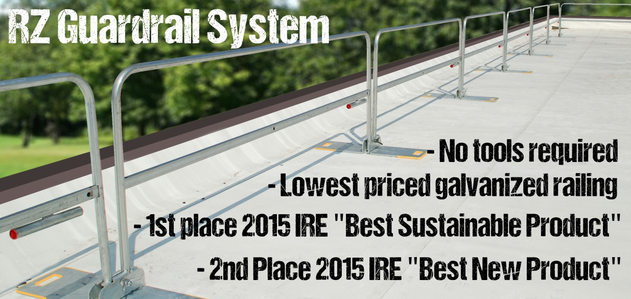RoofZone RZ Guard Rail System