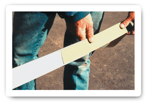 Slide color strip into the ColorGard® crossmember.